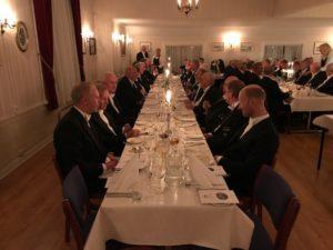 GJESTER: Rundt 70 Gjester Feiret Logens Jubileum På Torsdag. Foto: Privat