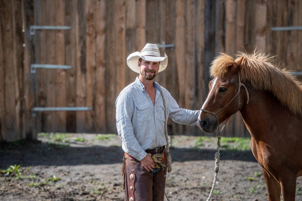 Lever Ut Cowboydrømmen På Løddesøl