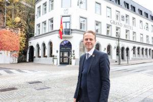 NY EIER: Morten Christensen Er Konserndirektør I Grand Hotel. Foto: Grete Helgebø