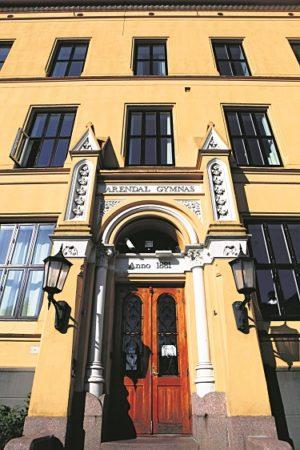 Arendal Gymnas Tyholmen Videregående Skole