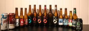 ÅRETS UTVALG: Disse 16 ølene Ble Testet I Tidendes Juleøltest. Foto: Grete Helgebø