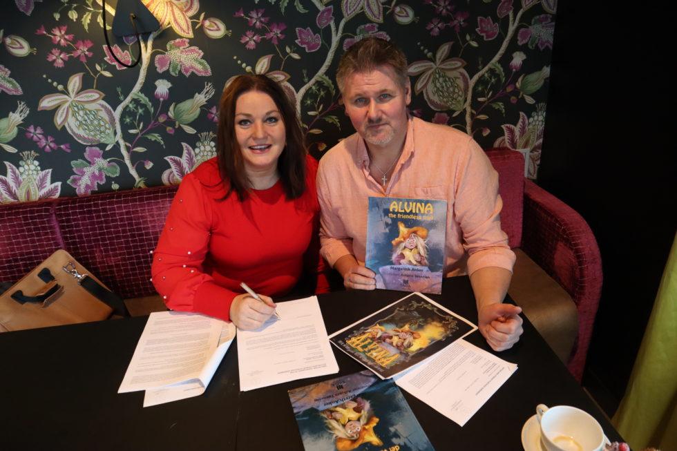 Signerte Filmkontrakt: Lokalt Troll Blir Internasjonal Animasjonsfilm