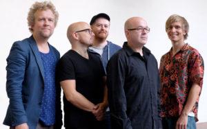 KVINTETT: Fredrik Ljungkvist, Magnus Broo, Håvard Wiik, Ingebrigt Håker Flaten Og Hans Hulbækmo. Pressefoto: Anne Valeur