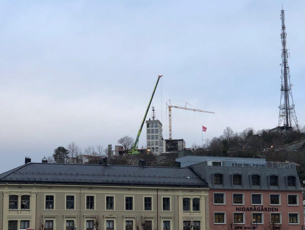 TILTAKSPENGER: Tiltakspengene Går Blant Annet Til å Stimulere Bygg Og Anlegg Bransjen. FOTO: Grete Helgebø