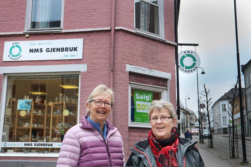EN ÆRA SNART OVER: NMS Gjenbruk Avslutter Butikkdriften I Byen. Foto: Grete Helgebø