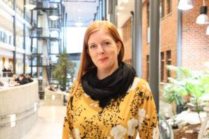 SEKSUELL HELSE: Berit Bulien Jørgensen Er Arendal Kommunes Prosjektleder For Seksuell Helse. Her Avbildet På UiA I Grimstad Hvor Hun Samtidig Studerer Sexologi. Foto: Grete Helgebø