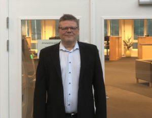 ØSTOVER: Vidar Akselsen Går Fra Jobben Som Banksjef I Kristiansand Til Arendal. Foto: Privat