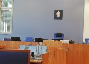 FRA RETTEN: Onsdag Møtte Den Svindeltiltalte Kvinna I Retten. Foto: Linda Dyrholm
