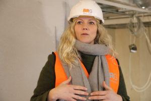 KULTURSJEF: Linda Sætra I Forbindelse Med Omvisning På Det Nye Kulturkammeret I Sentrum. Foto: Linda Dyrholm