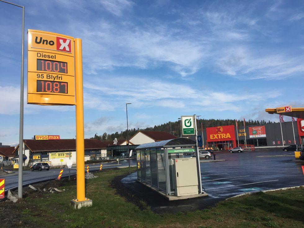 Drivstoffprisene Med Nye Bunnrekorder