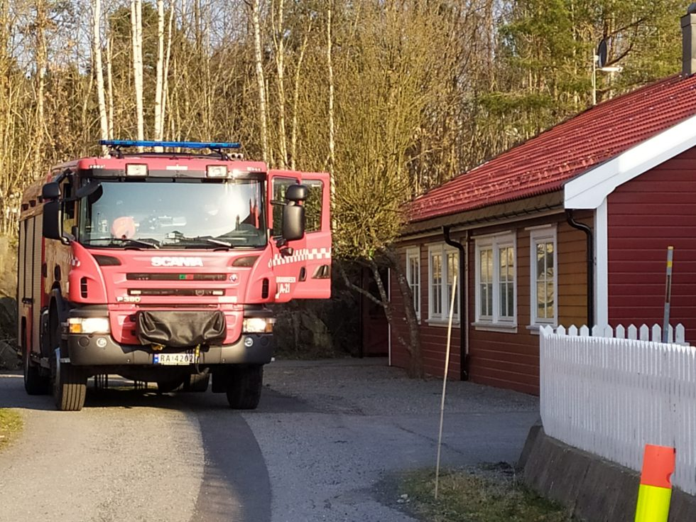 Husbrann På Tromøy