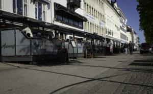 LANGBRYGGA: Her Finner Man Mange Av Arendals Utesteder. FOTO: Torald B Kateraas