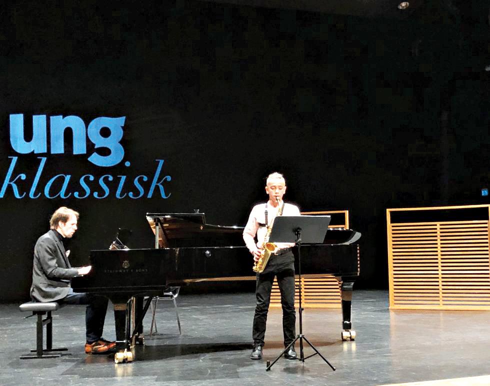Finale I Ung Klassisk Talent
