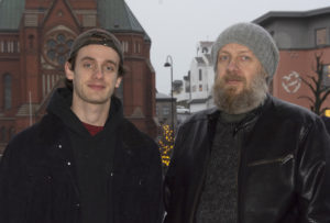 FAR OG SØNN: Johannes Nannestad Og Bård Nannestad Er Nå Aktuelle Med Boka «Oslo Eventyr Vol 2». FOTO: Torald B Kateraas