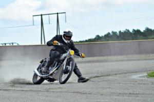 SPEEDWAY: Speedway Er Et Løp Som Foregår På Grusbane Med Motorsykler. FOTO: Morten Kløvfjell