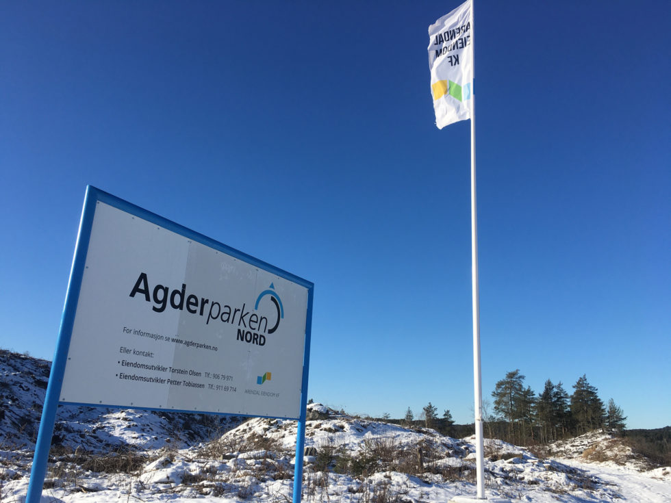 Ny Stor Næringspark I Arendal
