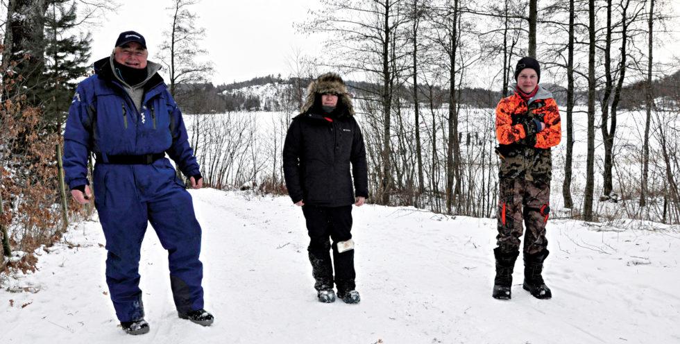 Jakten På Tryta Under Isen