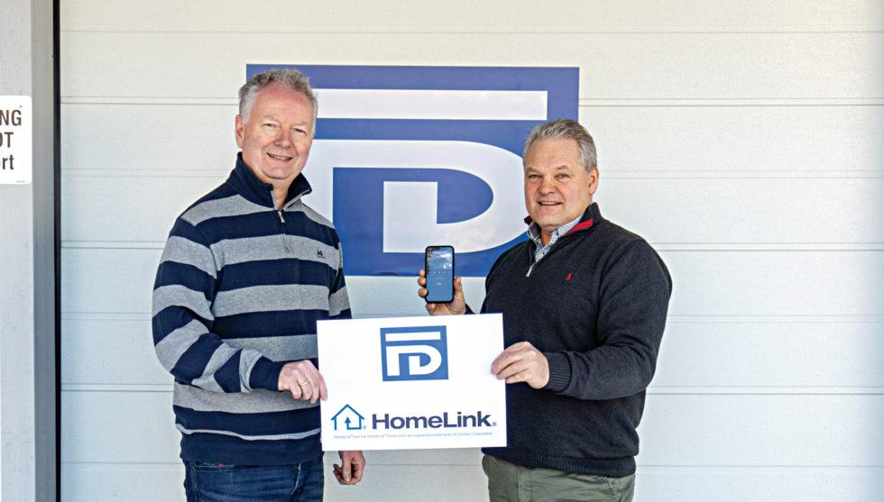 Første Norske Selskap Med HomeLink® Sertifisering