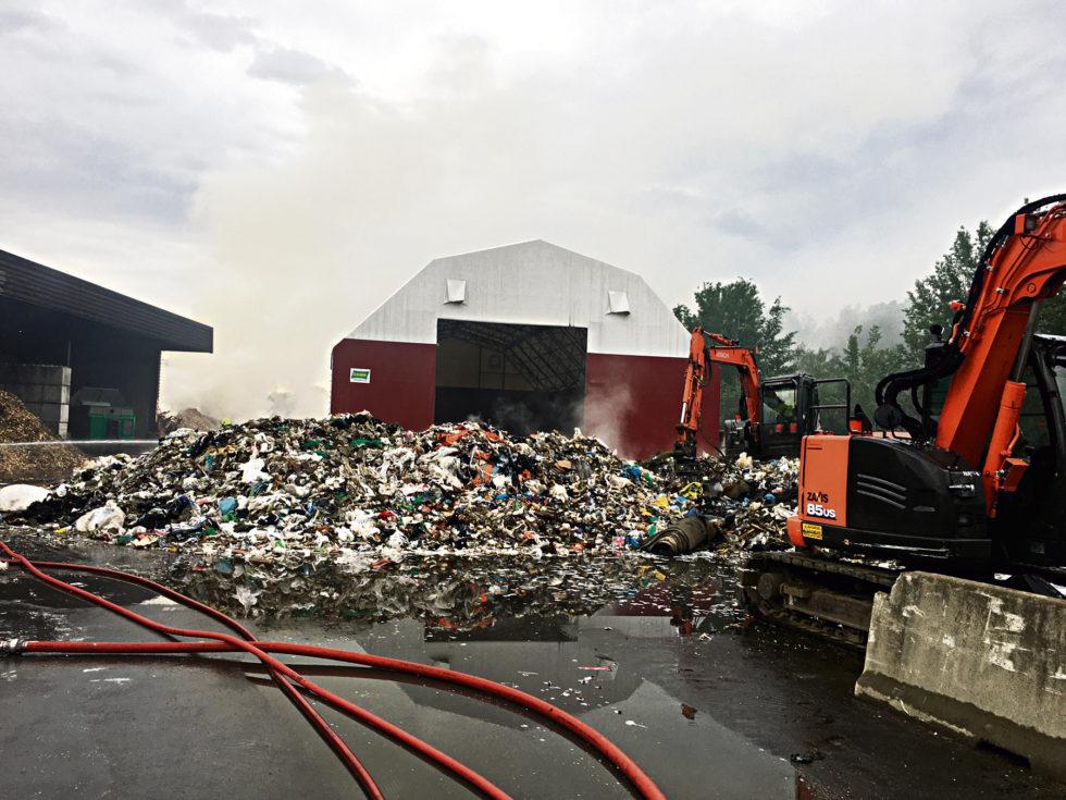 Nok En Søppelbrann På Høgedal