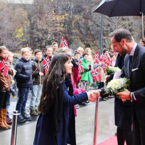 Kronprinsen kommer til Arendal