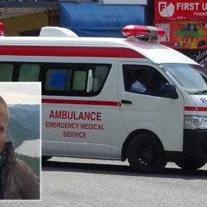Havnet i koma etter ulykke på Jamaica: Nå er han hjemme