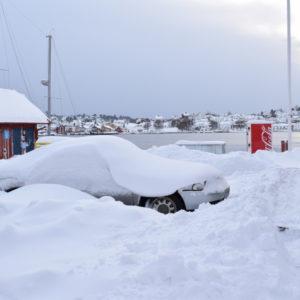 Snøvær på vei - farevarsel for Agder