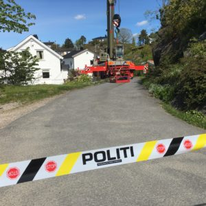 Fant død person i Steinsås-gruva
