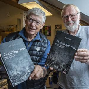 Knut Frognes er bokaktuell med «Fiendtlige seil, historisk roman fra napoleonskrigene»
