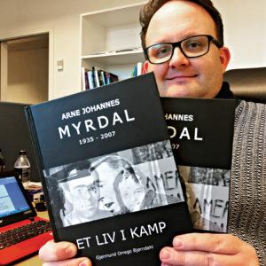 Ny bok om Arne J. Myrdal