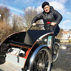 Med sykkeldilla og folkehelse fra nord til sør