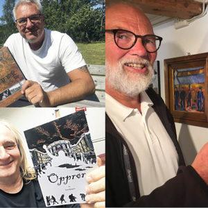 Sørlandsk bokbad, malerier og visesang på Staubø kultursenter